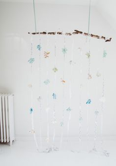 Fabric Floral Party Backdrop