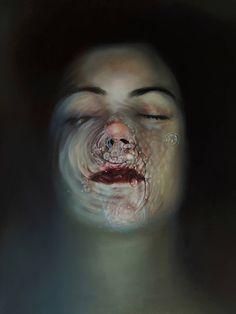 Beautiful Paintings of Underwater Girls Portraits by Nuria Farré – Fubiz Media