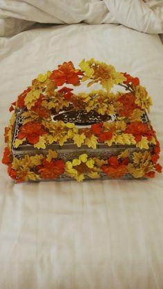Tissues Box 4 ama ( flower creation)