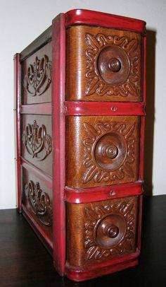 Antique Singer Treadle Sewing Machine Cabinet by KathatKreations, $250.00