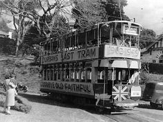 This picture of Old Faithful, Durban's last tram, was taken on 2 ...