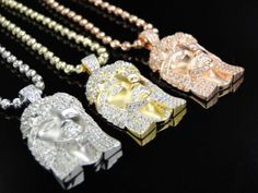 Check out our new micro Jesus pieces only available at www.24k-jewelry.com . The items above are solid sterling silver Heavily plated in white gold, rose gold & yellow gold. The link to Jesus pieces are in the bio. Www.24k-jewelry.com   #Jewelry #gold #silver #platinum #casio #diamond #watch #necklace #chain #2chains #2chainz #versace #vintage #24k #14k #18k #cubanlink #miamicubanlink #hermes #chanel #grailgang #ysl #mcm #ennoir #bape #givenchy #dope #shining #vvs #rolex