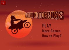 Motocross excitement is waiting for you in an unknown planet. http://funnkidsgames.com/astro-motocross/