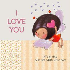 ¡Feliz día de #SanValentín! #Talentina Buddha, I Love You, My Love, Good Morning, Disney Characters, Fictional Characters, Disney Princess, Cute, Motivational