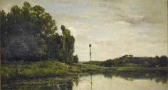 Banks of the Oise, 1863 - Charles-Francois Daubigny