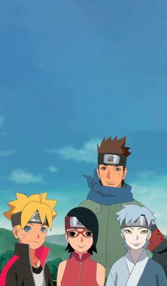 Boruto: Naruto Next Generations Todos os Episodios Online Naruto Kakashi, Naruto Team 7, Naruto Shippuden Sasuke, Anime Naruto, Boruto And Sarada, Wallpaper Naruto Shippuden, Naruto Cute, Naruto Wallpaper, Team Wallpaper