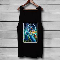 Mega Man X and Zero Custom Tank Top T-Shirt Men and Woman