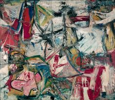 MoMa is currently exhibiting a retrospective on De Kooning. I'm such a sucker for abstract modernism. Someday I'll own one...