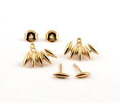 Boucles d'Oreilles Balanciers Triangles Argent par lunaijewelry