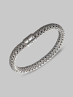 John Hardy Sterling Silver Medium Bracelet on shopstyle.com