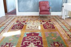 C. 1880 Antique Mughal Design Jail Agra Rug — Maxwell's Daily Find 01.17.13