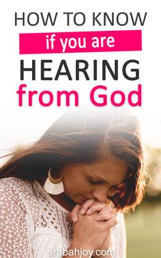 Wondering what God's voice is like and if you're really hearing from God? Christian Living, Christian Life, Godly Relationship Advice, Take Every Thought Captive, Jesus Is Life, Proverbs 31 Woman, Spiritual Growth, Spiritual Life, Praise The Lords