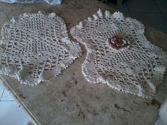 Conjunto para banheiro em crochê barbante!1  Peça exclusiva para quem gosta de rusticidade!!