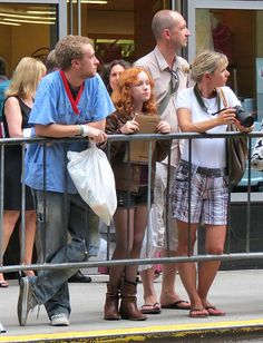 Doctor Who - Season 7 Premiere Incase you didn't notice, the two people in front are dressed up as Amy and Rory