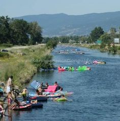 fun for the whole family, bring your own floaties or rent a tube and get a local bus ride back to the beginning to where your car is parked. Its about a 2 & half hour float down the warm river waters Penticton B. Things To Do In Kelowna, Free Things To Do, Fun Things, Fun Activities To Do, Vancouver Island, Canada Travel, Travel With Kids, British Columbia, Stuff To Do