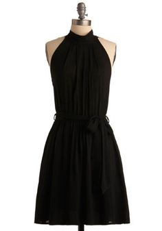 There's just something about black.   After Darkness Falls dress. Modcloth.