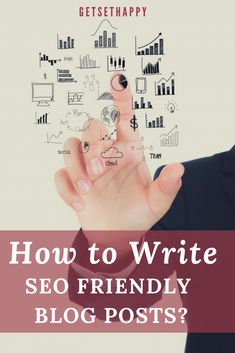 How to Write SEO-Friendly Blog Posts? | GetSetHappy Online Marketing Strategies, Digital Marketing Strategy, Marketing Proposal, Keyword Planner, Seo Tips, Blogging For Beginners, How To Start A Blog, Writing, Business Entrepreneur