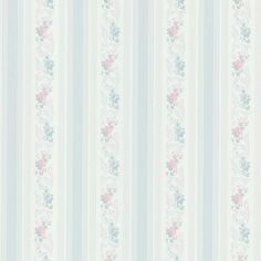 Interior Place - Nicola Light Blue Scrolling Floral Stripe 2532-51105 Wallpaper, 41.60 CAD (http://www.interiorplace.com/nicola-light-blue-scrolling-floral-stripe-2532-51105-wallpaper/)