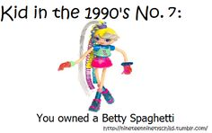 I love betty spaghetti!