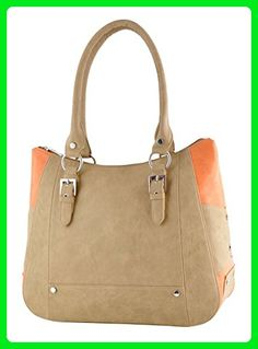 Butterflies Ladies Designer Purse Shoulder Bag Faux Leather Handbag - Shoulder bags (*Amazon Partner-Link)