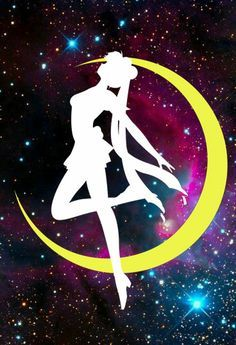 princess serenity silhouette png - Google Search