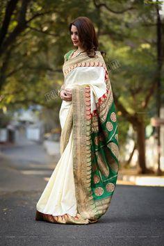 deeksha panth in bhargavi kunam saree Traditional Sarees, Traditional Dresses, Beautiful Saree, Beautiful Outfits, Beautiful Clothes, Indian Dresses, Indian Outfits, Saree Poses, Modern Saree