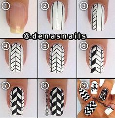 Nail Art Designs 💅 - Cute nails, Nail art designs and Pretty nails. Funky Nail Art, Funky Nails, Cute Nail Art, Nail Art Diy, Beautiful Nail Art, Easy Nail Art, Diy Nails, Cute Nails, Manicure