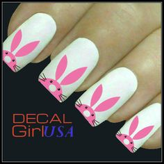 Easter+Nail+Art+Decals+32+Easter+Bunny+Nail+Decals+von+DecalGirlUSA,+$3,99