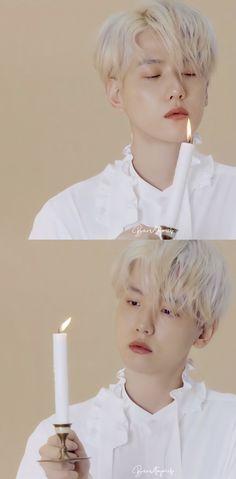 K Pop, Exo Stickers, Baekhyun Wallpaper, Exo Album, Chanbaek, Aesthetic Photo, K Idols, Chanyeol, Photo Editing