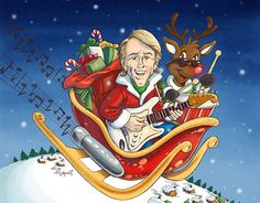 """Check out my digital painting work on my @Behance portfolio: """"Color & Digital Painting for Al Jardine's X-mas Single"""" http://be.net/gallery/49863325/Color-Digital-Painting-for-Al-Jardines-X-mas-Single"""
