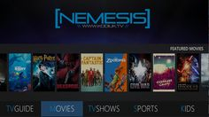 Nemesis is one of the best Kodi builds. Here's how to get it