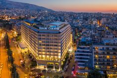 Divani Caravel, a 5 star hotel, member of the Leading Hotels of the World, in Athens Leading Hotels, Beautiful Hotels, World Traveler, 5 Star Hotels, Luxury Travel, Athens, San Francisco Skyline, Wanderlust, Vacation