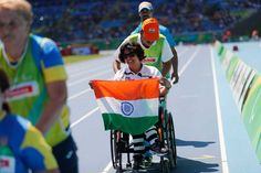 The Indian Contingent at the Rio 2016 Paralympic Games came back home winning 4 medals which include 2 Golds and it was their best show ever. Baseball Playoffs, Basketball Scoreboard, Basketball Floor, Basketball Tickets, Basketball Leagues, Basketball Legends, Basketball Compression Pants, Real Life Heros