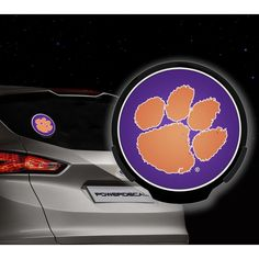 Clemson Tigers NCAA Power Decal