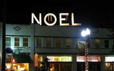 Noel Hotel sign - now in Franklin