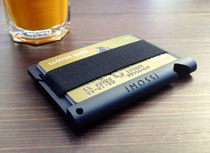 imossi London ltd is raising funds for The RFID protected wallet, packed with modern features. The protects you from RFID fraud, whilst also providing you with a sleek, minimal design that's packed with modern features. Edc Wallet, Slim Wallet, Aluminum Wallet, Yanko Design, Minimalist Wallet, Brand Packaging, Modern Man, Minimal Design, Futuristic