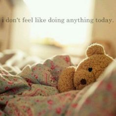 That time of the month #lazydays #sleepy
