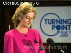 Princess Diana Speech on Addiction  At a conference for the charity Turning Point on substance abuse and addiction. 18.5.89