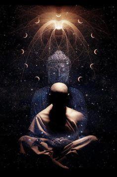 An Exploration of the Seven Wheels, Meditation, Buddhism, Spirituality, and the Human Energy Field Lotus Buddha, Art Buddha, Buddha Buddhism, Buddhist Art, Les Chakras, Little Buddha, Psy Art, Mystique, Visionary Art