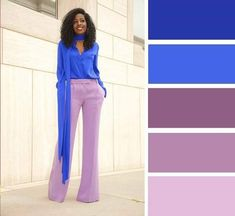 Fashion trends and street style Colour Combinations Fashion, Color Combinations For Clothes, Color Blocking Outfits, Fashion Colours, Colorful Fashion, Color Schemes Colour Palettes, Colour Pallete, Color Trends, Color Combos
