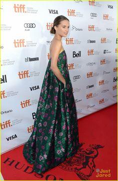 Alicia Vikander TIFF 2013