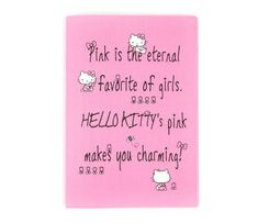 Hello Kitty Notebook: Charming Pink