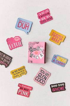 Mean Girls Mini Burn Book + Magnet Set | Urban Outfitters