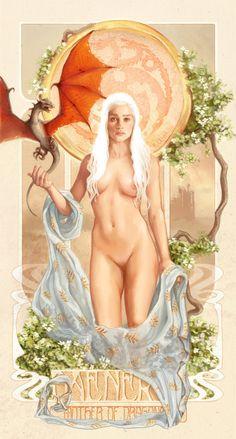 Mother of Dragons by inuevan #Daenerys #Khaleesi