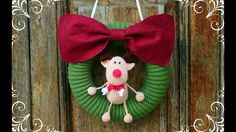 How to crochet a Christmas Wreth   World Of Amigurumi