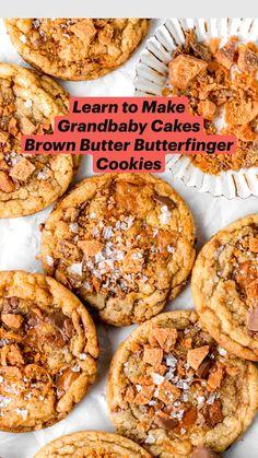 Ginger Bread Cookies Recipe, Peanut Butter Cookie Recipe, Yummy Cookies, Xmas Cookies, Simple Cookie Recipe, Ultimate Cookie Recipe, Banana Cookie Recipe, Brown Butter Cookies, Oatmeal Chocolate Chip Cookie Recipe