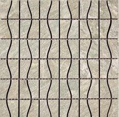 """#Interceramic - Imperial Quartz Silver Mosaic 16"""" x 16"""""""