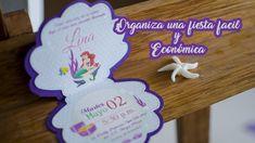 Ideas fáciles y económicas para fiesta de Sirenita | Easy ideas for Merm...