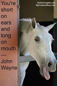 John Wayne's quote on 'listening'