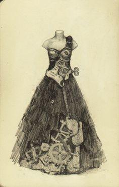 Topic 2: 14th April: Clockwork Ballroom by Yi-Piao Yeoh 'A Clockwork Ball needs clockwork couture!'